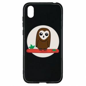 Huawei Y5 2019 Case Funny owl