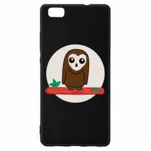 Huawei P8 Lite Case Funny owl