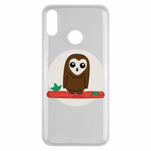 Huawei Y9 2019 Case Funny owl