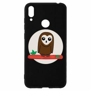 Huawei Y7 2019 Case Funny owl