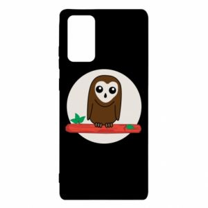 Samsung Note 20 Case Funny owl