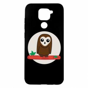 Xiaomi Redmi Note 9 / Redmi 10X case % print% Funny owl