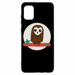 Samsung A31 Case Funny owl