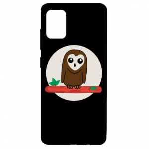 Samsung A51 Case Funny owl