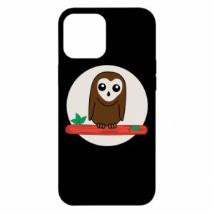 iPhone 12 Pro Max Case Funny owl
