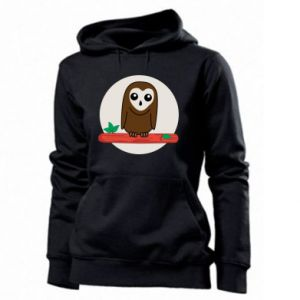 Women's hoodies Funny owl