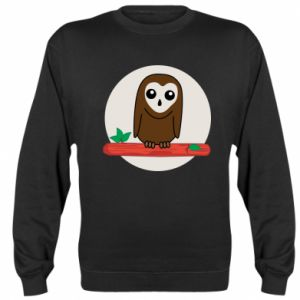 Bluza (raglan) Śmieszna sowa