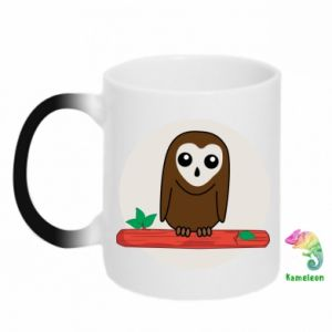 Magic mugs Funny owl