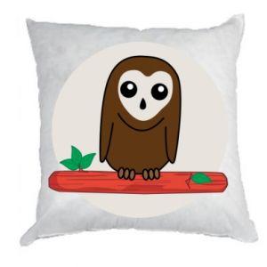 Pillow Funny owl