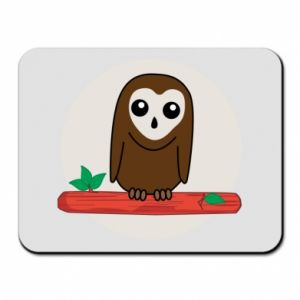 Mouse pad Funny owl