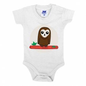 Baby bodysuit Funny owl