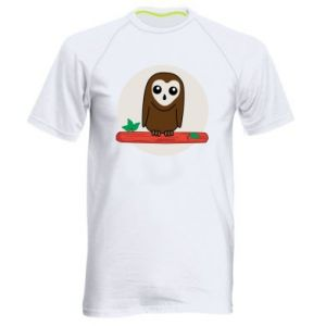 Men's sports t-shirt Funny owl