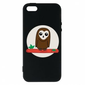 iPhone 5/5S/SE Case Funny owl