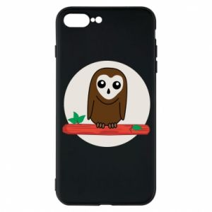 iPhone 7 Plus case Funny owl