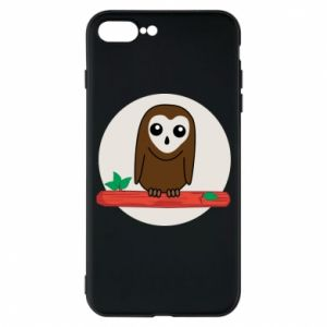 iPhone 8 Plus Case Funny owl