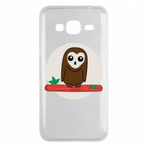 Phone case for Samsung J3 2016 Funny owl