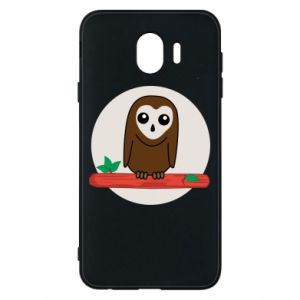 Phone case for Samsung J4 Funny owl