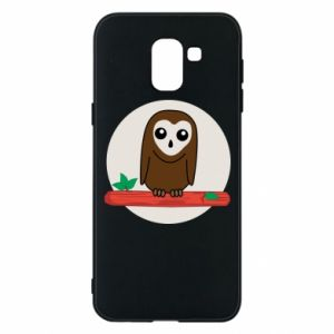 Phone case for Samsung J6 Funny owl