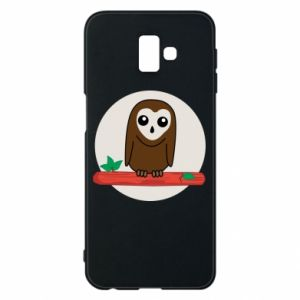 Phone case for Samsung J6 Plus 2018 Funny owl