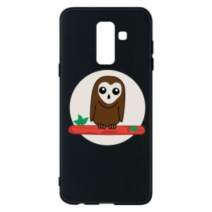 Phone case for Samsung A6+ 2018 Funny owl