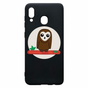 Phone case for Samsung A20 Funny owl