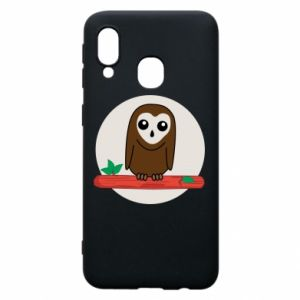 Phone case for Samsung A40 Funny owl