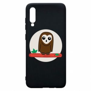 Phone case for Samsung A70 Funny owl