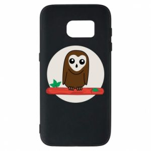 Phone case for Samsung S7 Funny owl