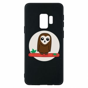 Phone case for Samsung S9 Funny owl