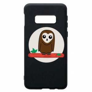 Phone case for Samsung S10e Funny owl