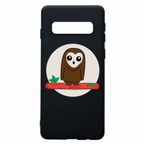 Phone case for Samsung S10 Funny owl