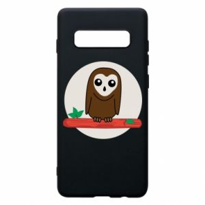 Phone case for Samsung S10+ Funny owl
