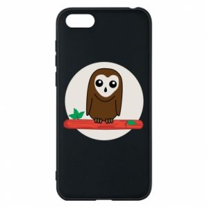 Phone case for Huawei Y5 2018 Funny owl