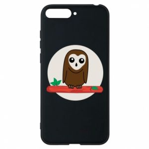Phone case for Huawei Y6 2018 Funny owl
