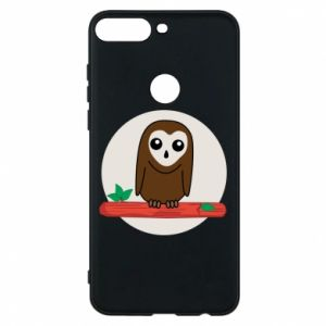 Phone case for Huawei Y7 Prime 2018 Funny owl