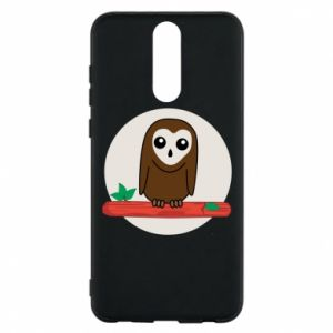 Phone case for Huawei Mate 10 Lite Funny owl