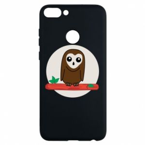 Phone case for Huawei P Smart Funny owl