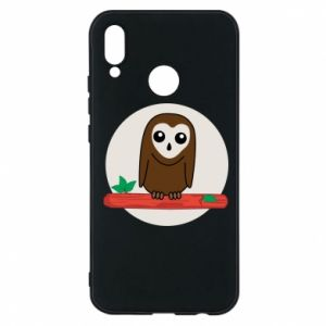 Phone case for Huawei P20 Lite Funny owl