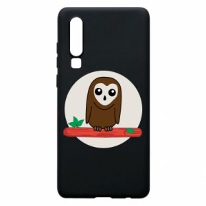 Phone case for Huawei P30 Funny owl