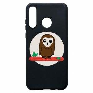 Phone case for Huawei P30 Lite Funny owl