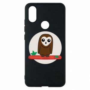 Phone case for Xiaomi Mi A2 Funny owl