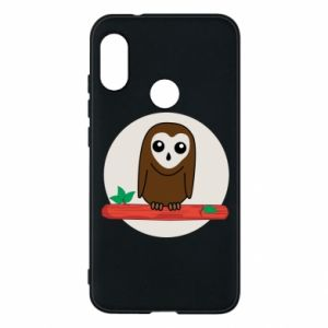 Phone case for Mi A2 Lite Funny owl