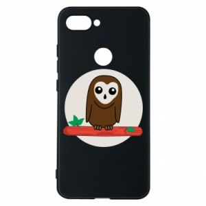 Phone case for Xiaomi Mi8 Lite Funny owl