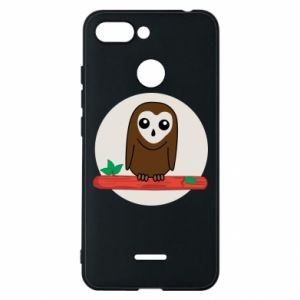 Phone case for Xiaomi Redmi 6 Funny owl