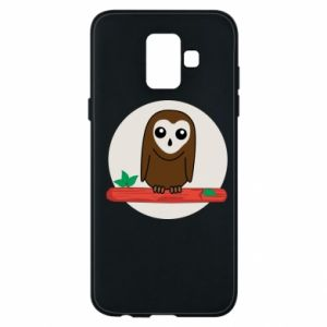 Phone case for Samsung A6 2018 Funny owl