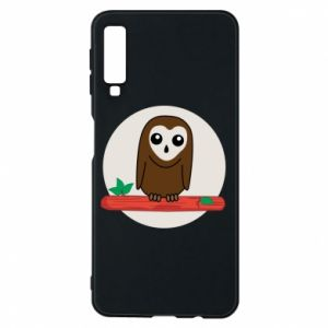 Phone case for Samsung A7 2018 Funny owl