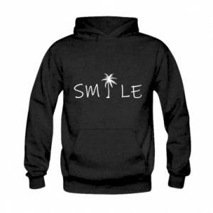 Bluza z kapturem dziecięca Smile inscription