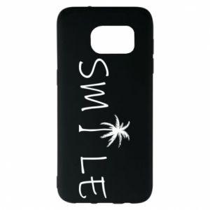 Etui na Samsung S7 EDGE Smile inscription