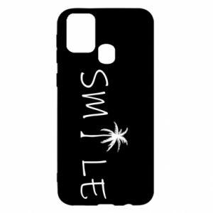 Etui na Samsung M31 Smile inscription