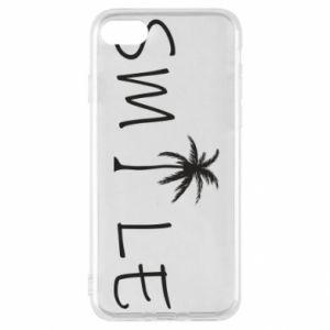 Etui na iPhone SE 2020 Smile inscription